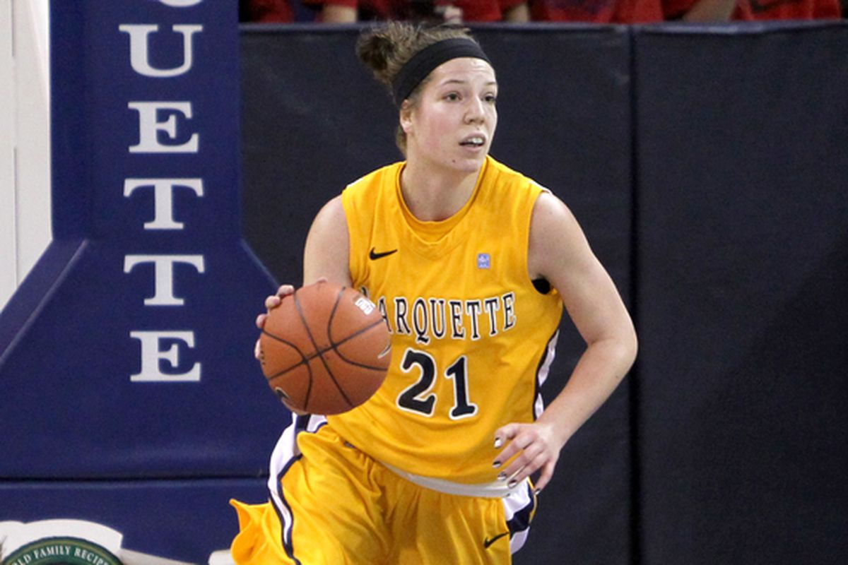 Katherine Plouffe led the way for the Golden Eagles against the Panthers.
