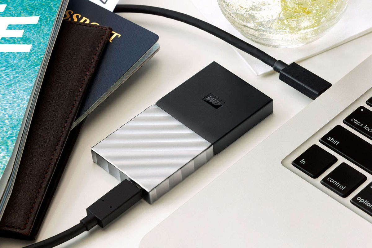 Western Digital announces its first portable SSD - The Verge d1d6543489aa