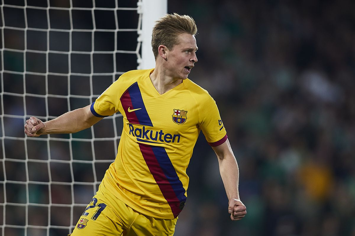 Frenkie De Jong Barcelona Are Improving Every Week Under Quique Setien Barca Blaugranes