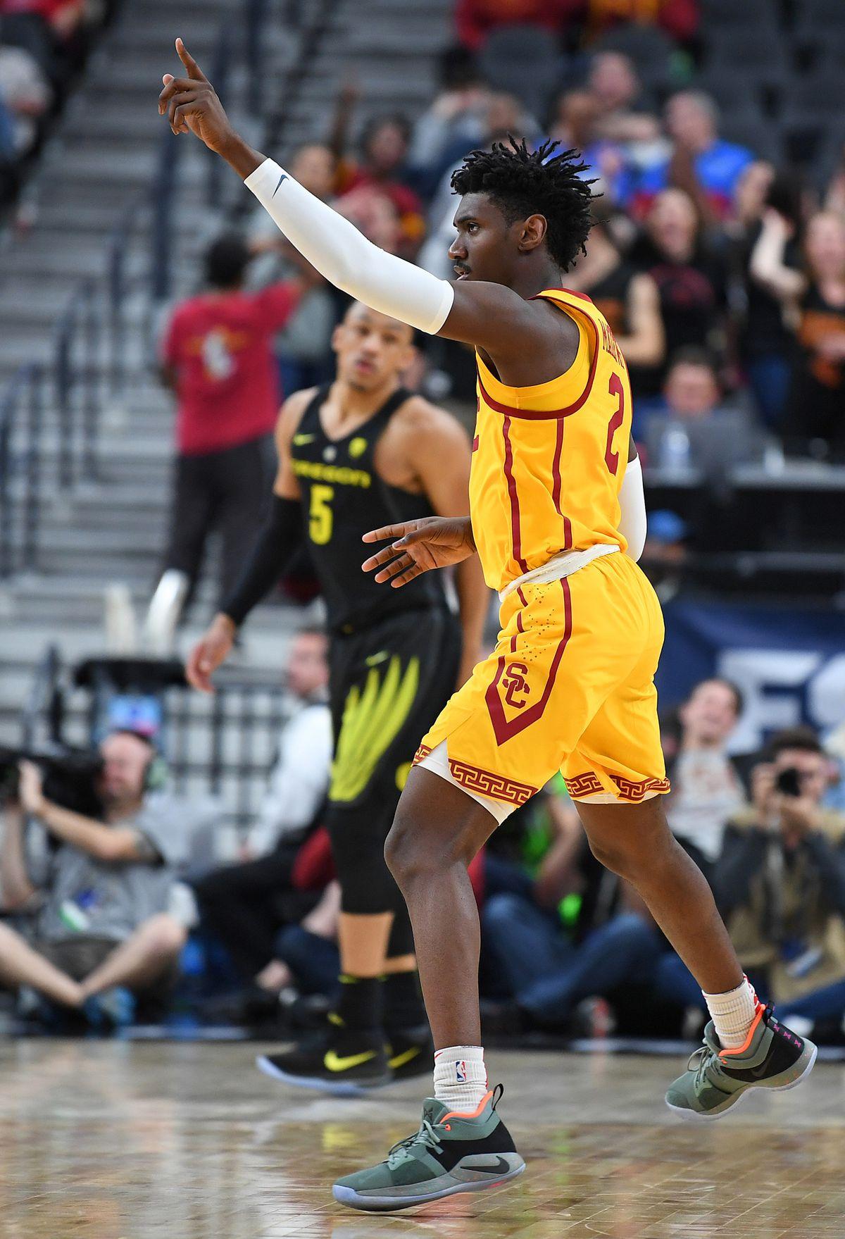 NCAA Basketball: Pac-12 Conference Tournament - USC vs Oregon