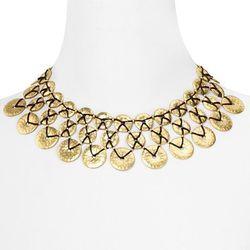 Lauren Ralph Lauren at Bloomingdale's, <a href= http://www1.bloomingdales.com/shop/product/lauren-by-ralph-lauren-grecian-gold-woven-disc-collar-necklace-16?ID=574660&PartnerID=LINKSHARE&cm_mmc=LINKSHARE-_-n-_-n-_-n&LinkshareID=J84DHJLQkR4-Fz3HwH5fmPyGBUN