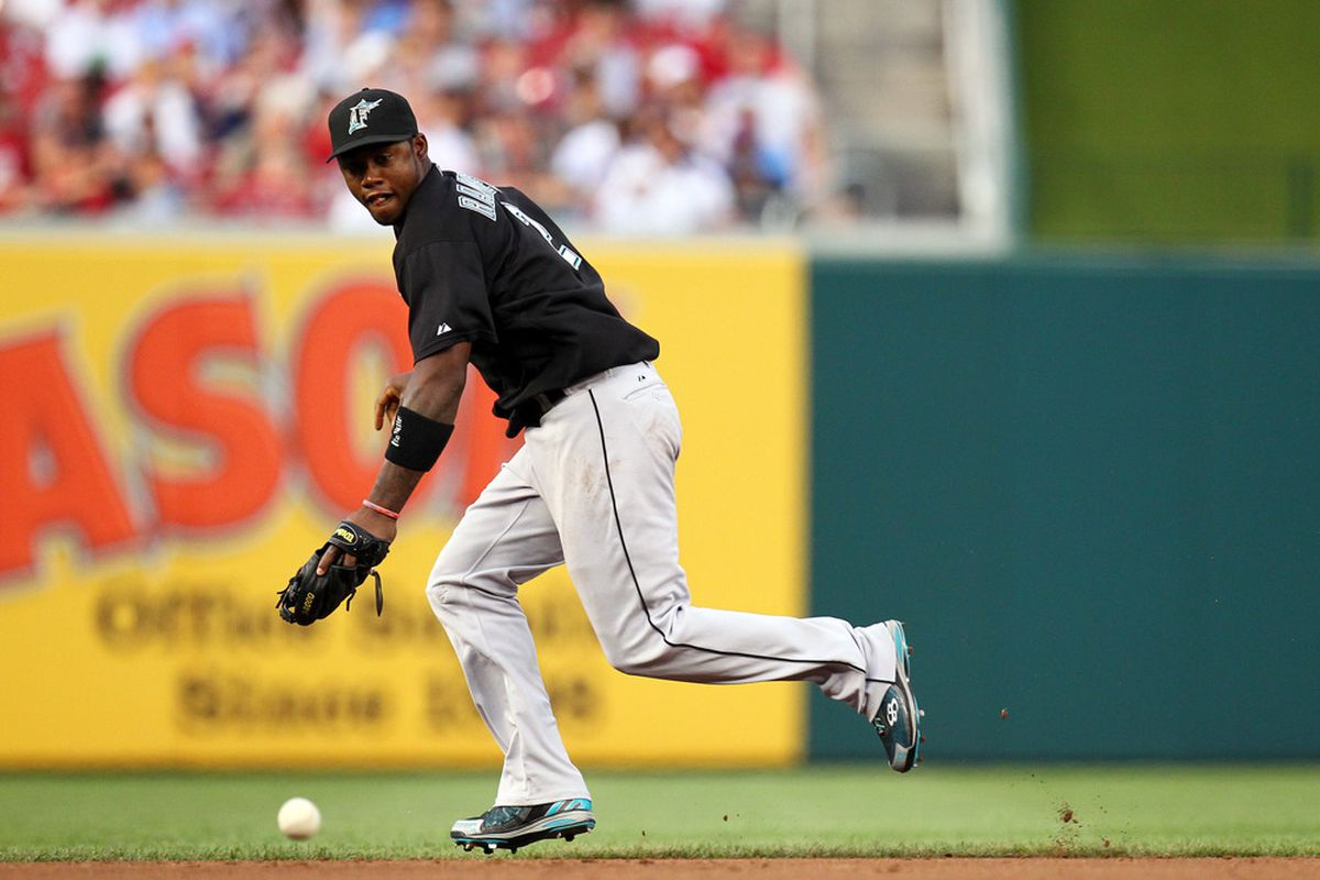 Will Hanley be playing closer to the third base bag in 2012?