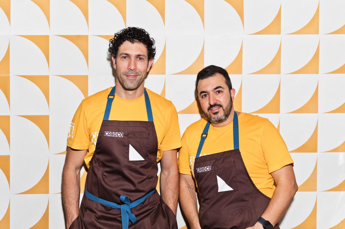 Rodrigo Oliveira and Victor Vasconcellos of Caboco in Los Angeles.