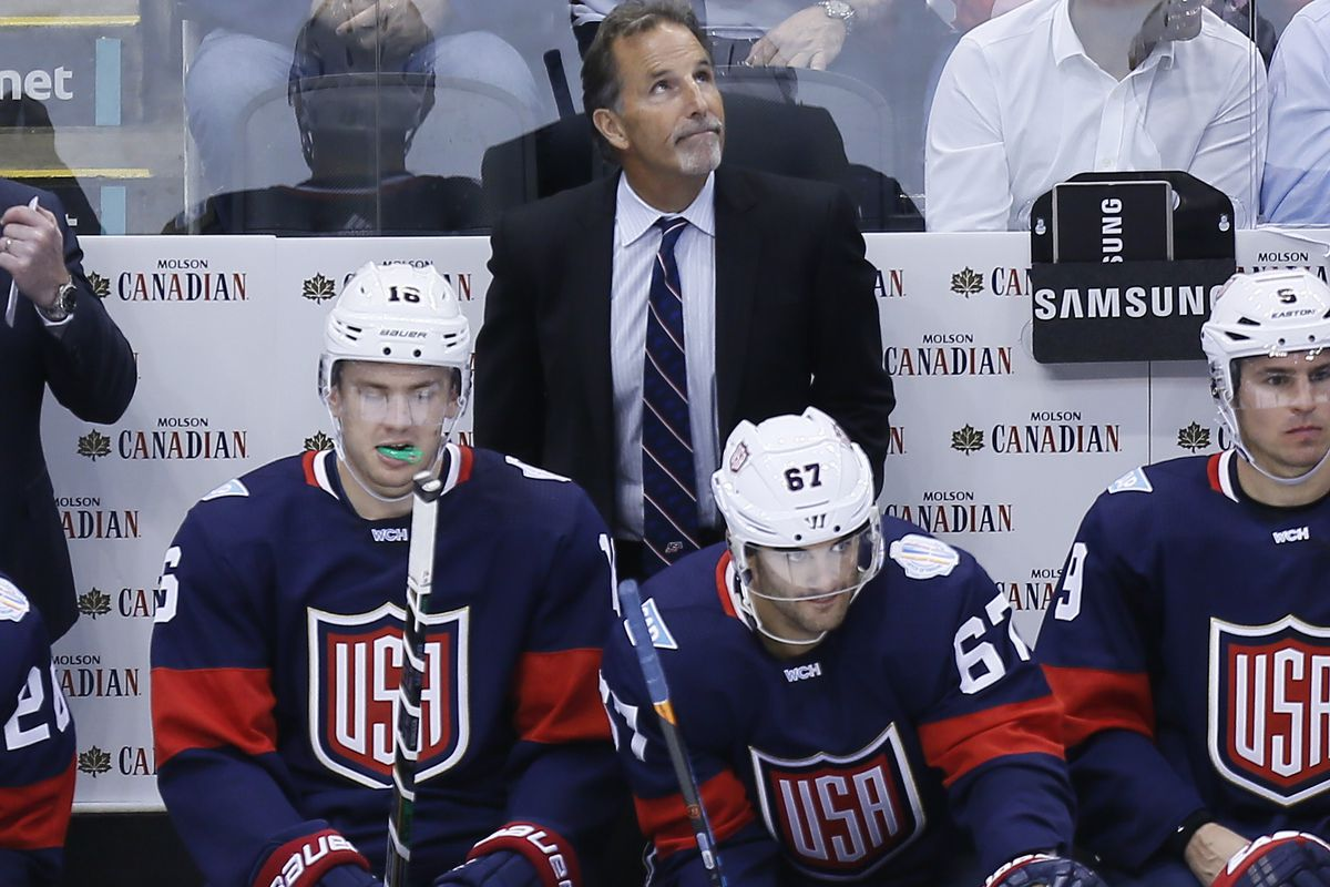 Hockey: World Cup of Hockey-Team Canada vs Team USA