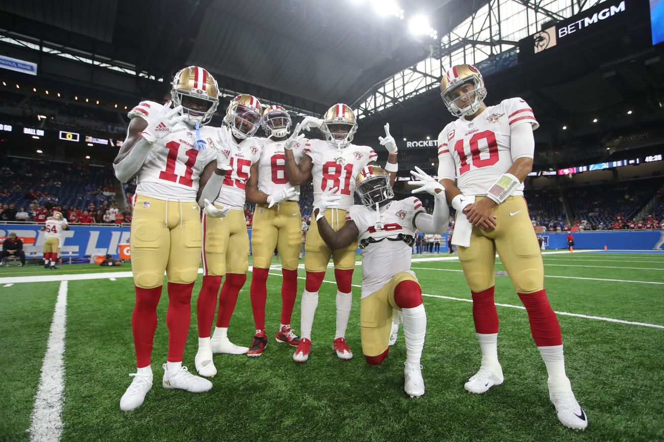 San Francisco 49ers v Detroit Lions