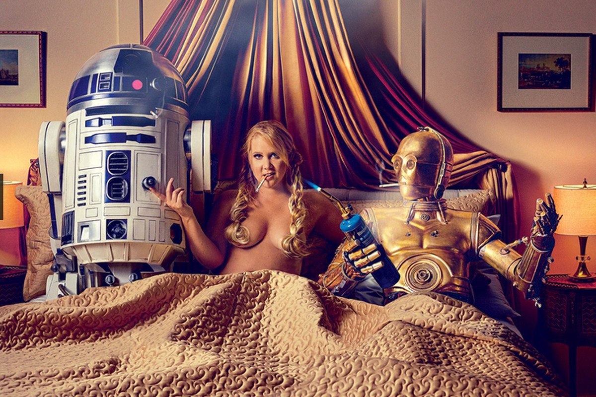 Amy Schumer Sex Video why amy schumer didn't need lucasfilm's permission to have