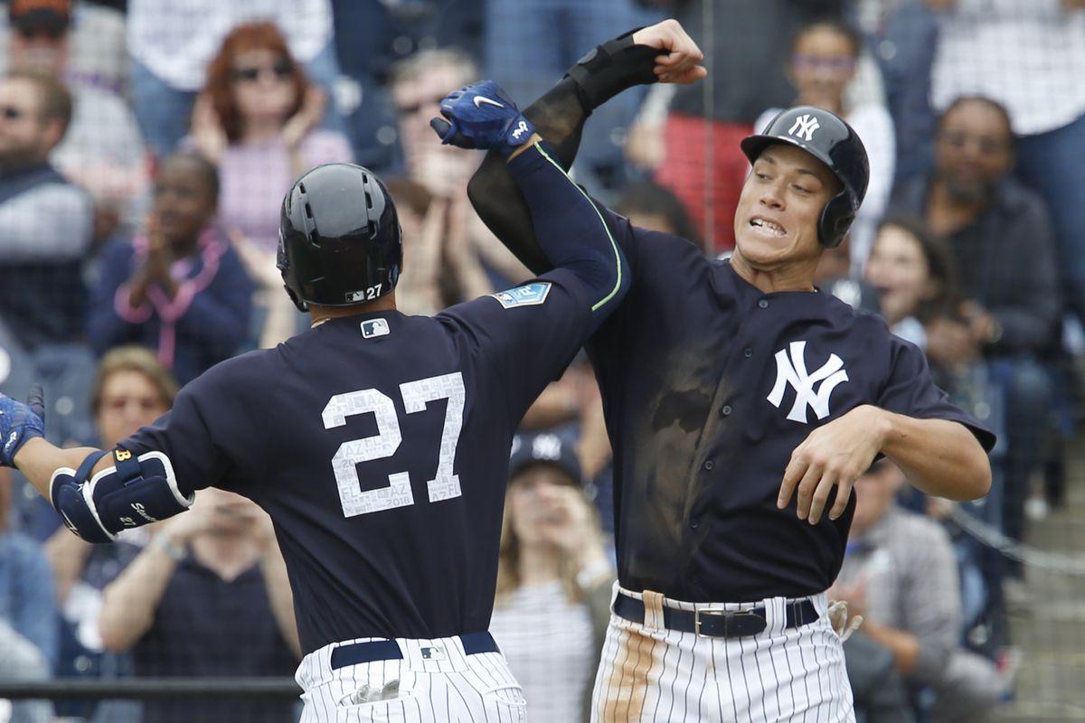 MLB: Spring Training-New York Mets at New York Yankees