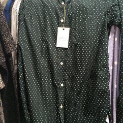 Officine Generale sport shirt, $90