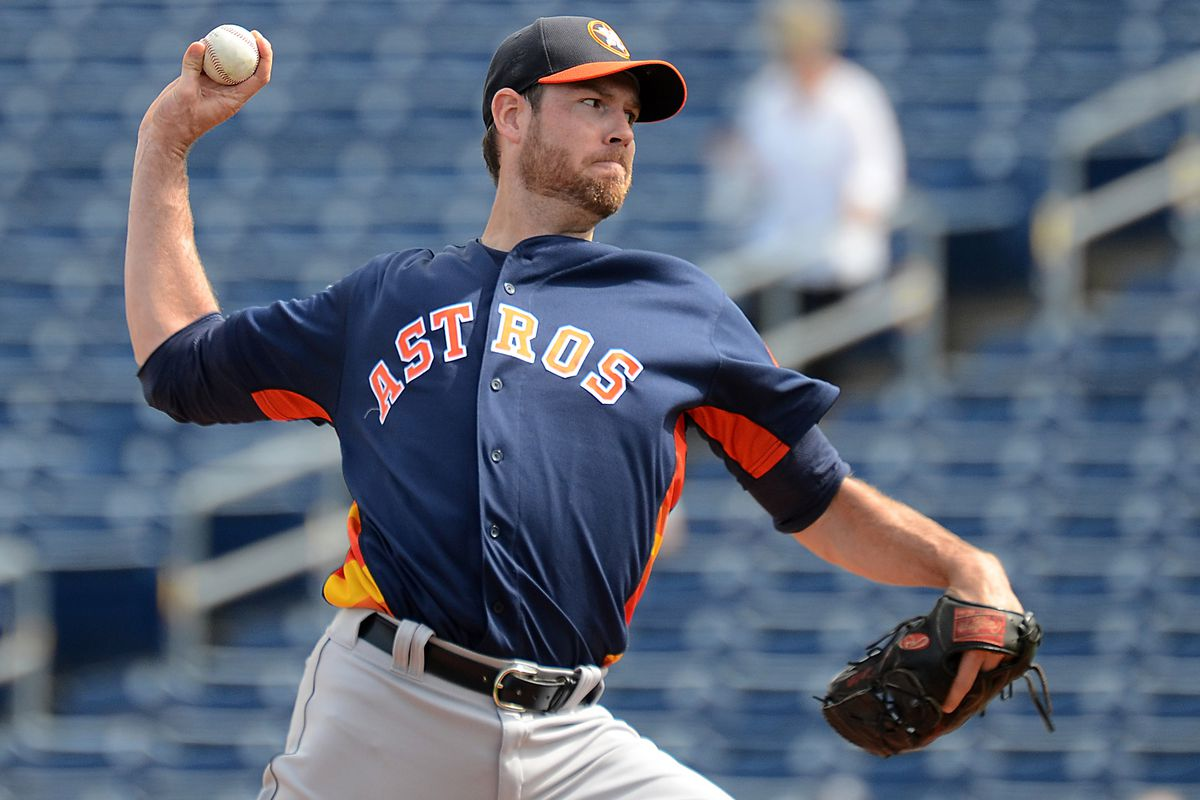 Doug Fister was brilliant in his spring debut with the Astros