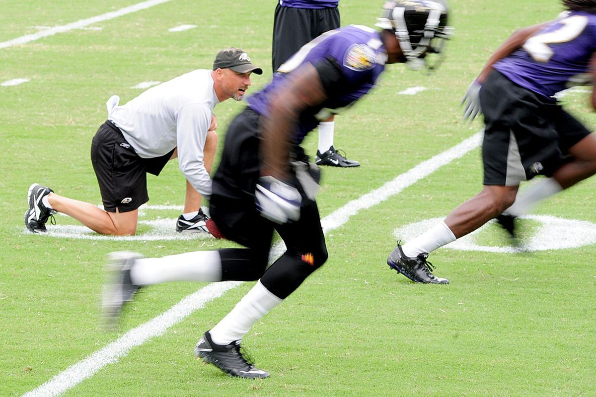 Receivers coach Jim Hostler appears to be the leading candidate for the Ravens' offensive coordinator job.