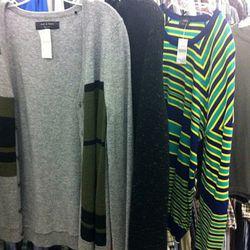A closer look at knits: (L-R) Rag & Bone, Theory, Jil Sander
