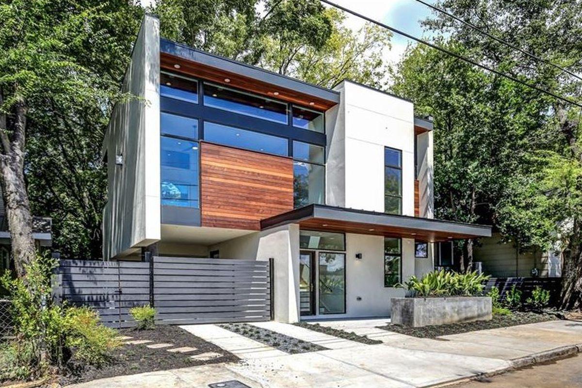 A new modern house for sale in Reynoldstown Atlanta.