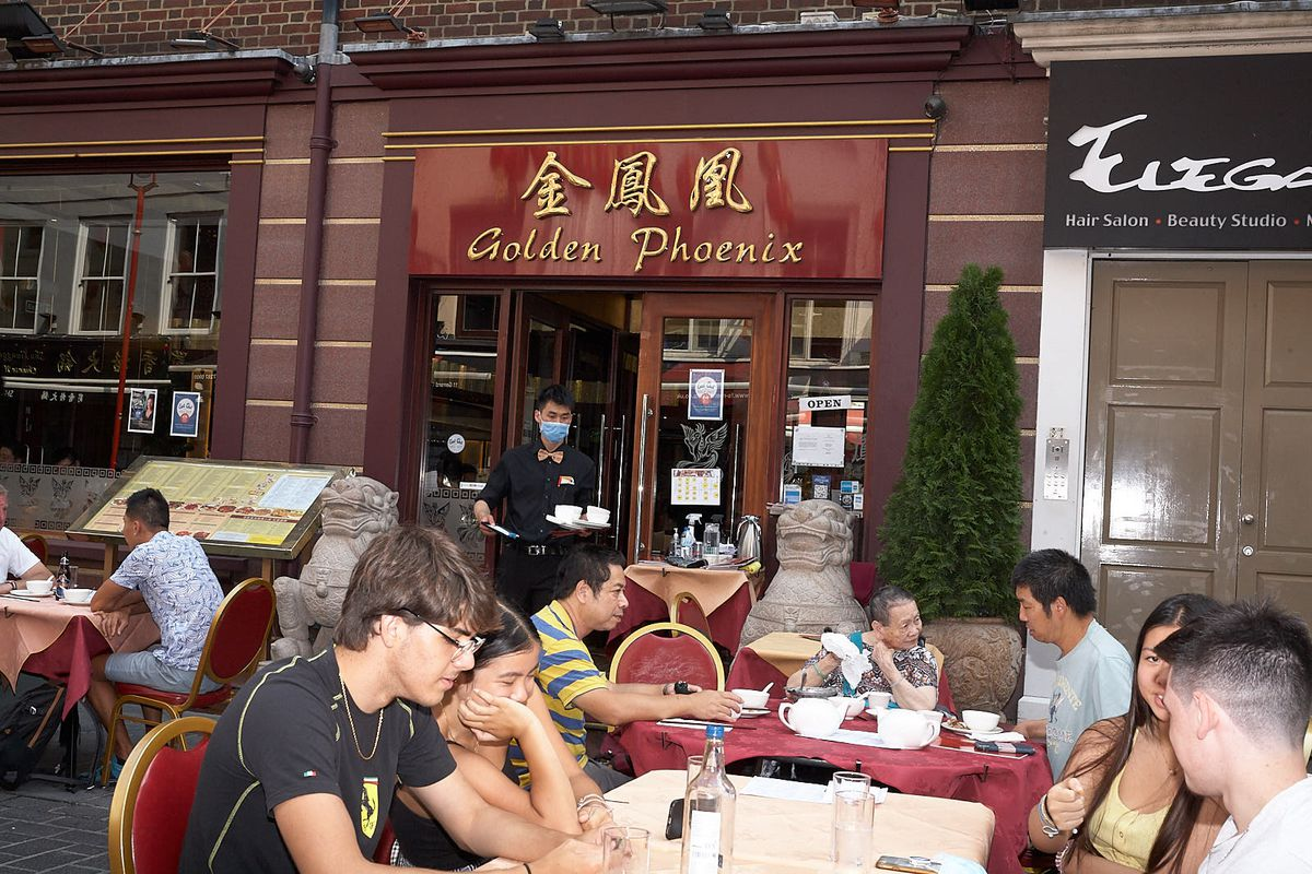 Central London restaurants like those in Chinatown have benefited from Eat Out to Help Out and the ability to offer outdoor dining