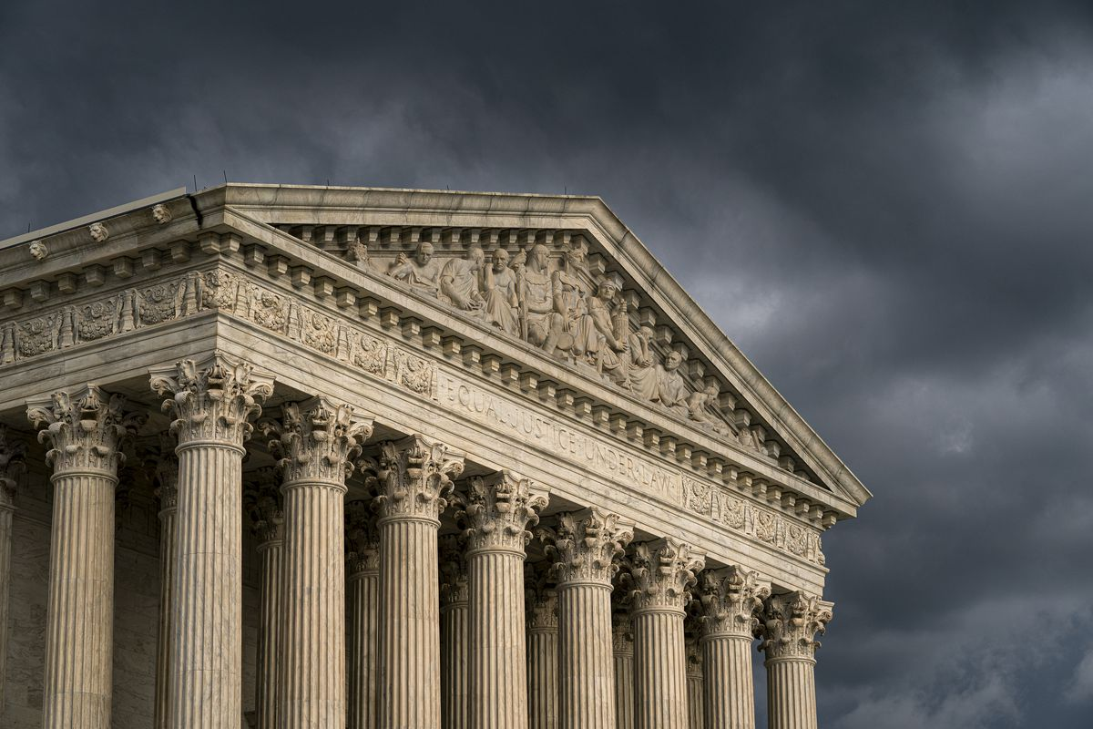 The political storm that could ensue if the Supreme Court overturns lower courts and backs Mississippi's efforts to ban abortions starting at 15 weeks of pregnancy could see other states move to restrict abortions and legal challenges that might ultimately take on the landmark, 50-year-old Roe vs. Wade ruling that women have a constitutional right to abortion.