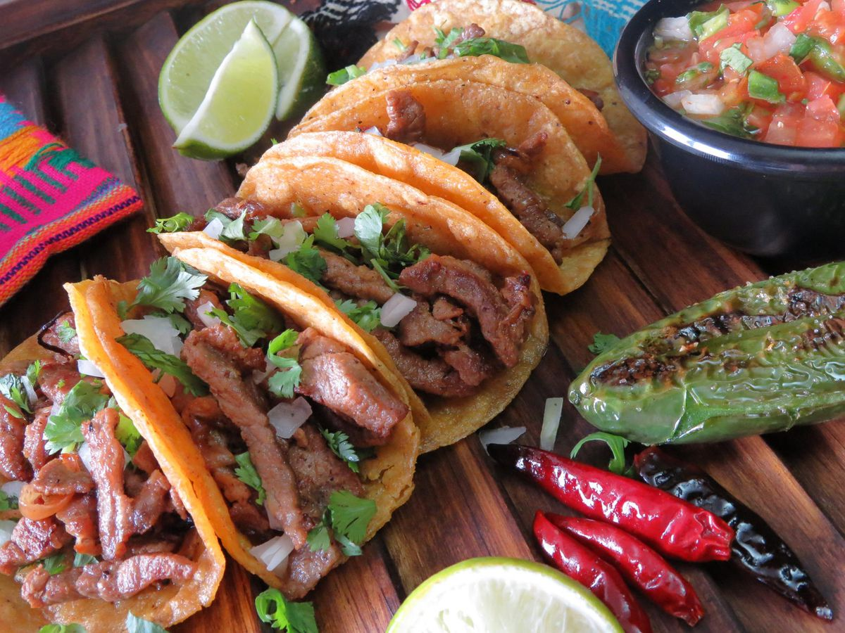 Tacos from Dejarvis Taco