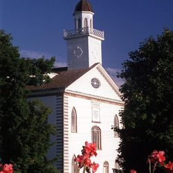 Kirtland Temple, in Kirtland, Ohio.