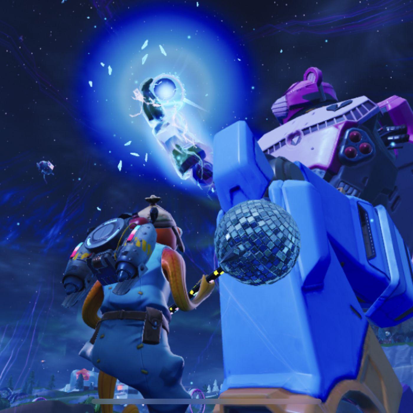 Fortnite S Mecha Monster Battle Was Its Most Impressive And