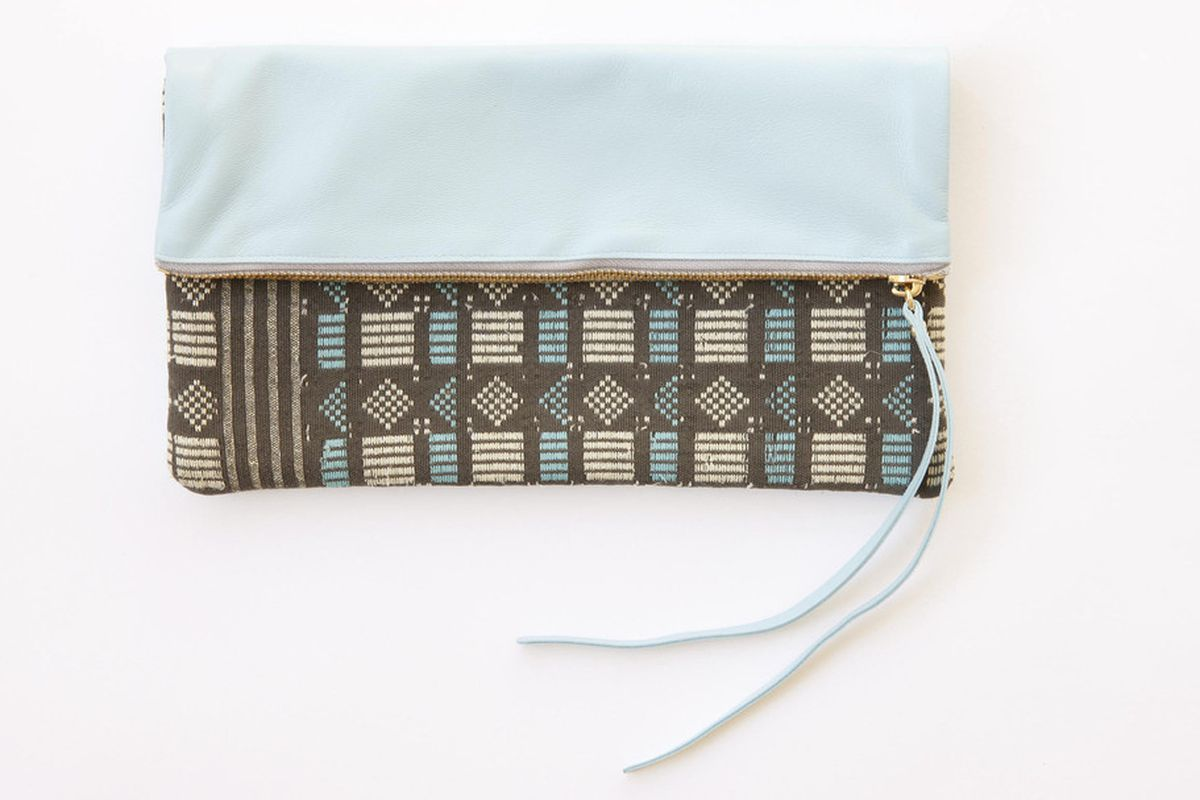 """Limited edition Aissata clutch by Petel, <a href=""""http://www.peteldesign.com/products/aissata-clutch-limited-edition-3"""">$265</a>"""