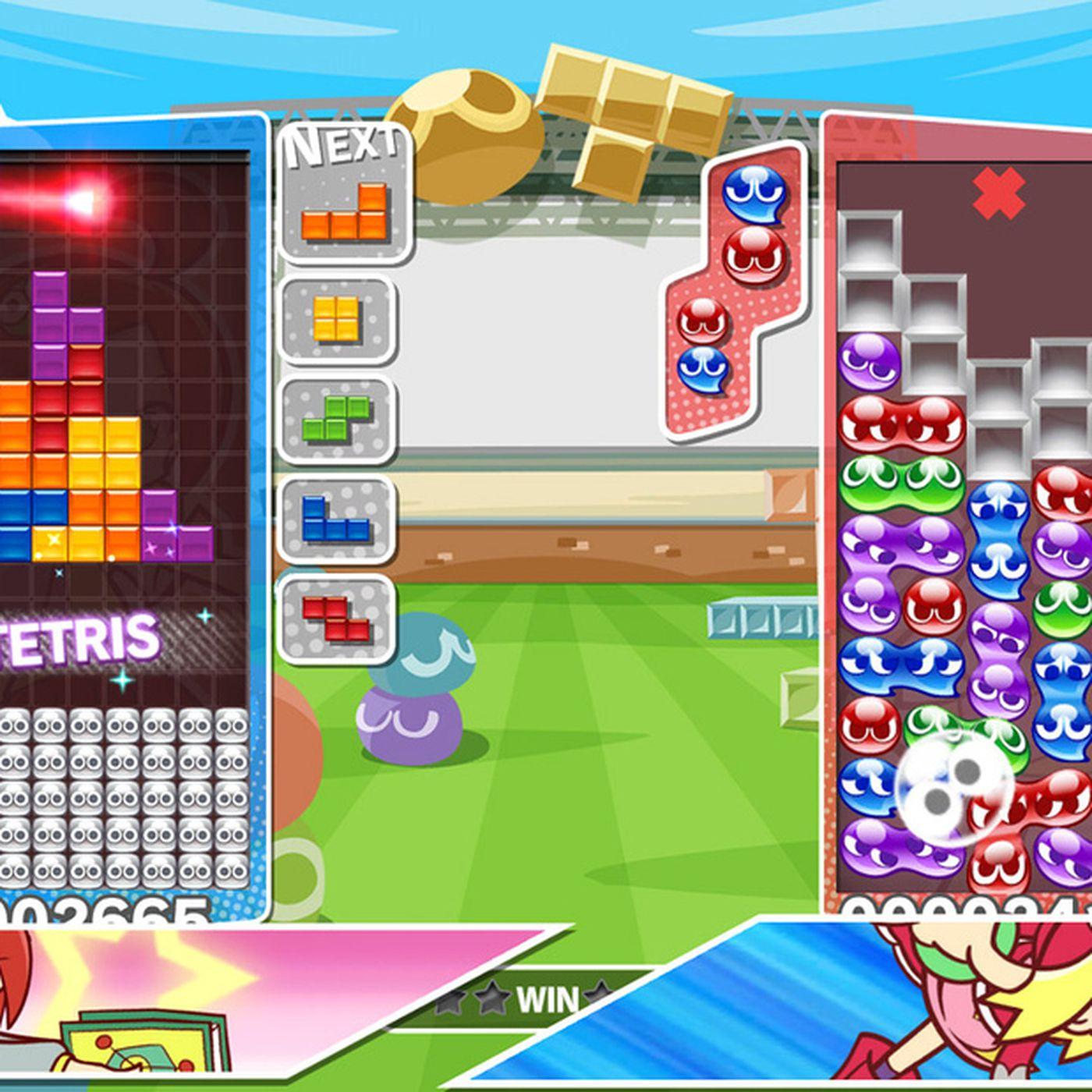 puyo puyo tetris s physical nintendo switch version costs 10 more