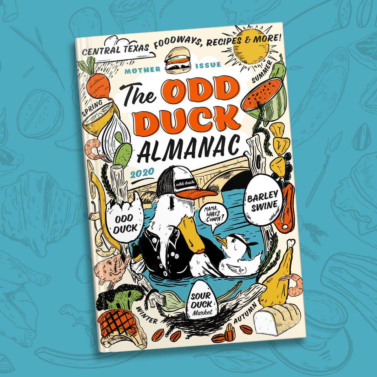 The cover of The Odd Duck Almanac