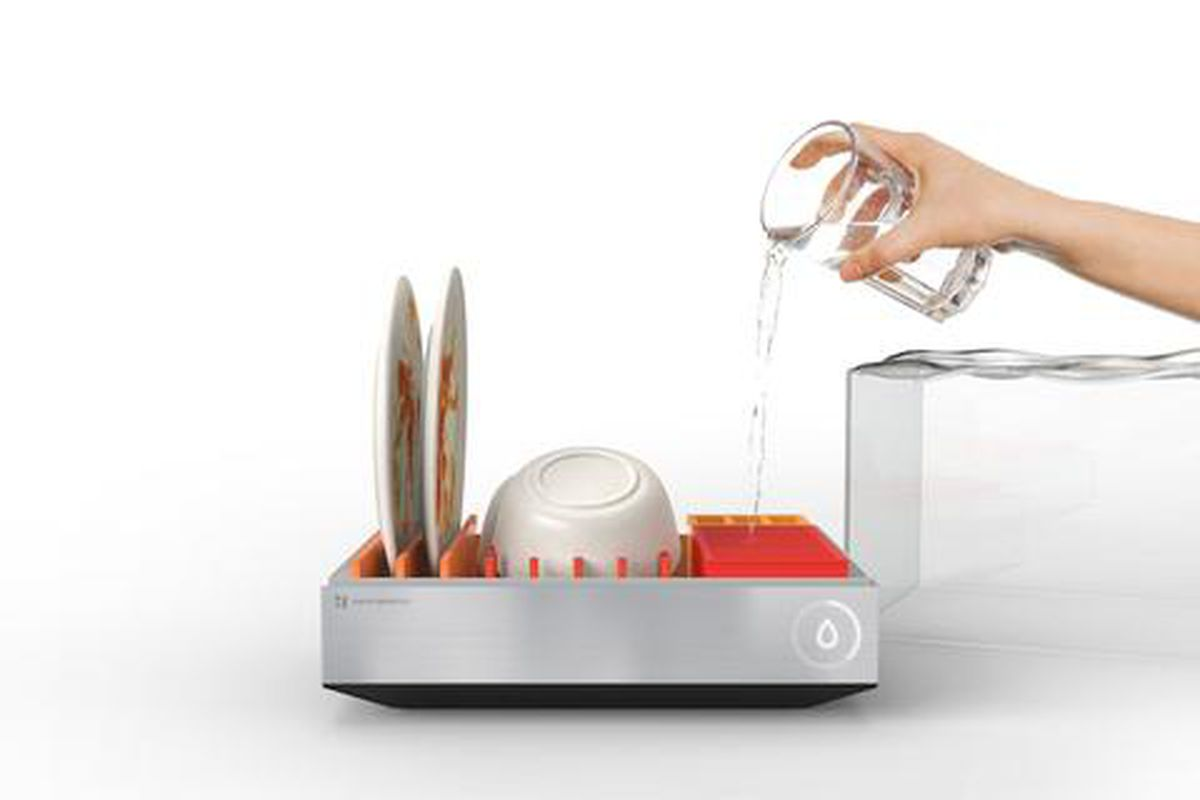 This smart dishwasher can wash your dishes and cook seafood ...