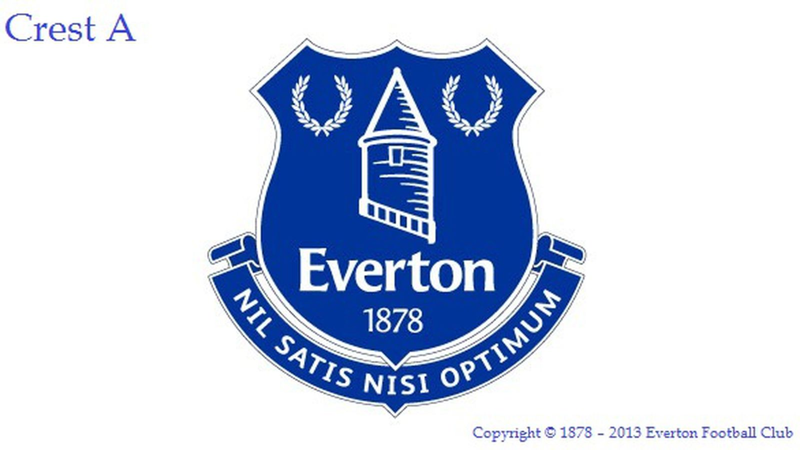 Everton Announce New Club Crest