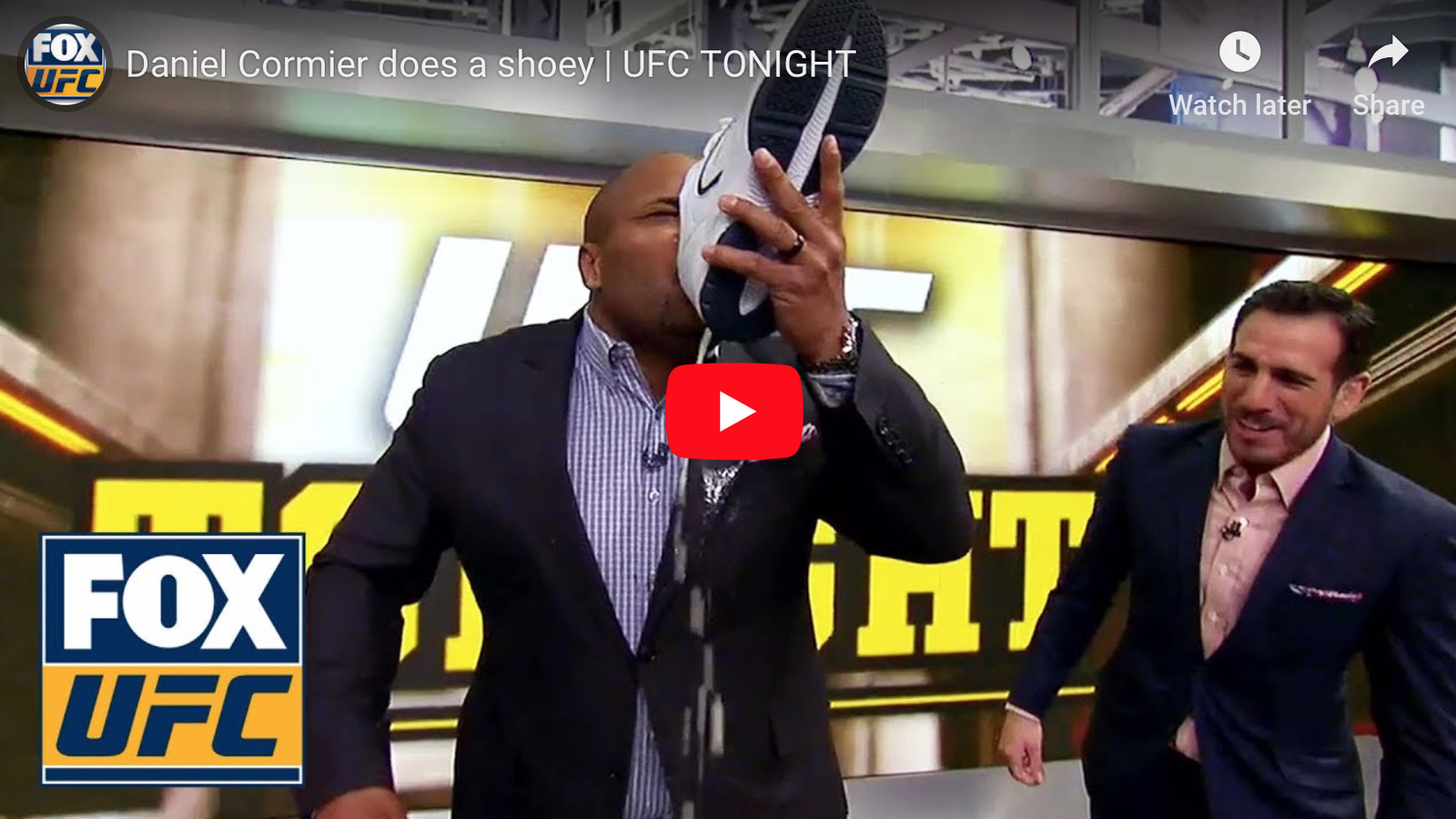 4c60d1f0049 UFC Adelaide  Watch Daniel Cormier do a  Shoey  in honor of Tai Tuivasa  (Video) - MMAmania.com