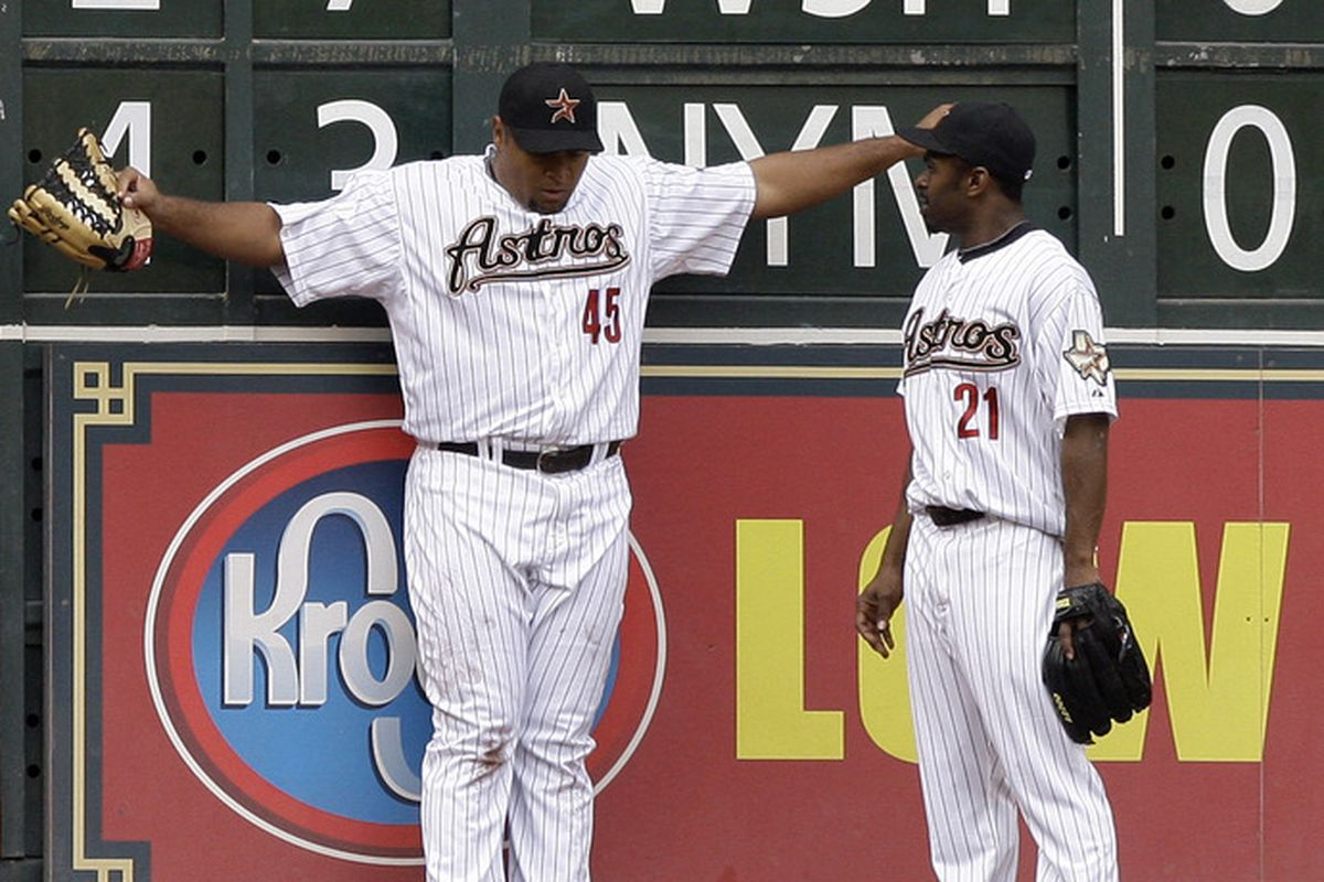 """""""So Carlos, just how big is the stack of cash you got from the Astros?"""""""