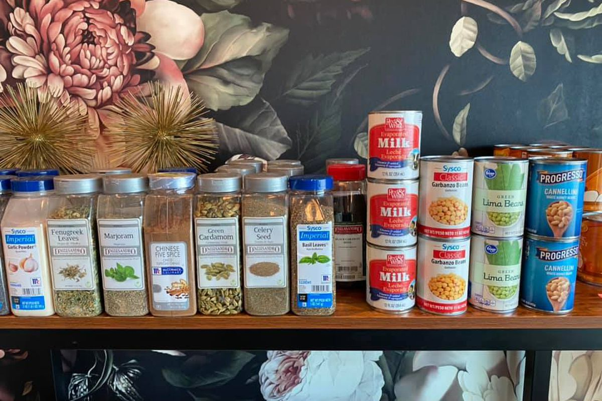 Spices, soups, and evaporated milk