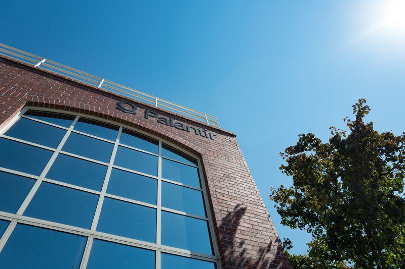 Palantir's former headquarters in Palo Alto.