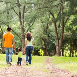 A new study suggests that even after divorce, a child will suffer less stress when a traditional, two-parent family shares custody of the child.
