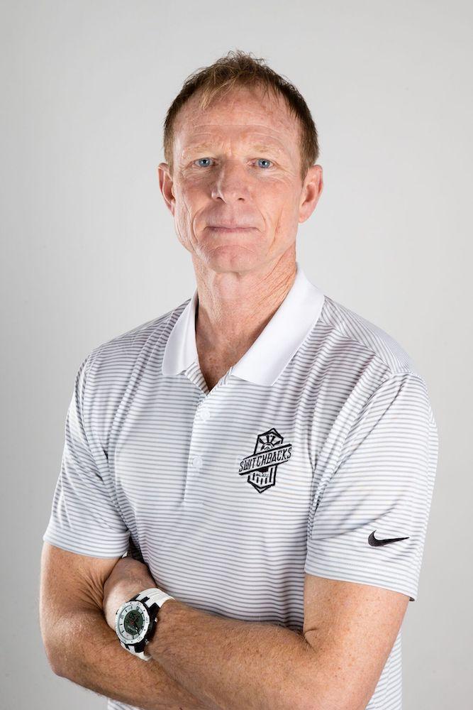 Colorado Springs Switchbacks FC Head Coach Steve Trittschuh