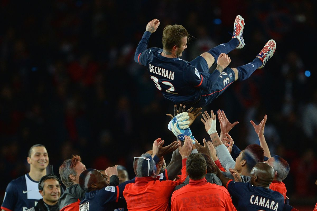 How many times in a row can we have Beckham on our Freedom Kicks cover photo?