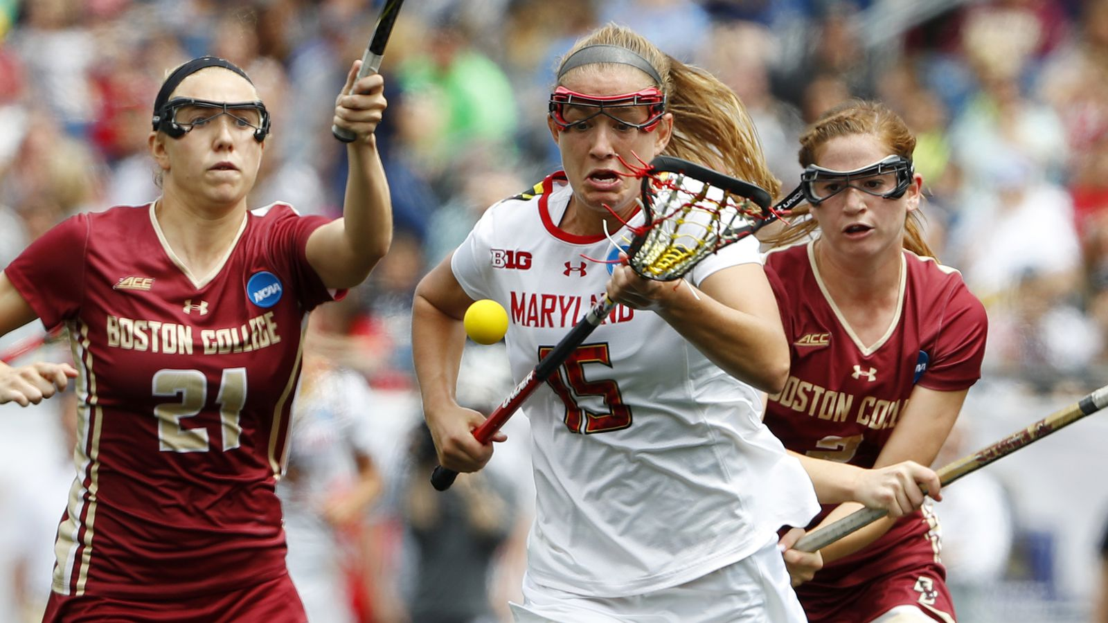 NCAA Women's Lacrosse Tournament 2017: Maryland beats Boston College for National Championship ...