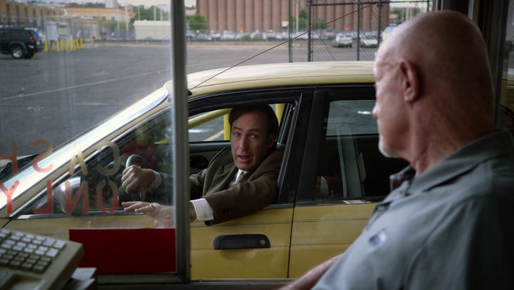 Mike serves as judge on Better Call Saul.