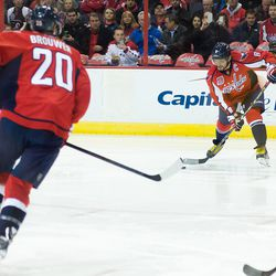 Ovechkin Tries One Timer
