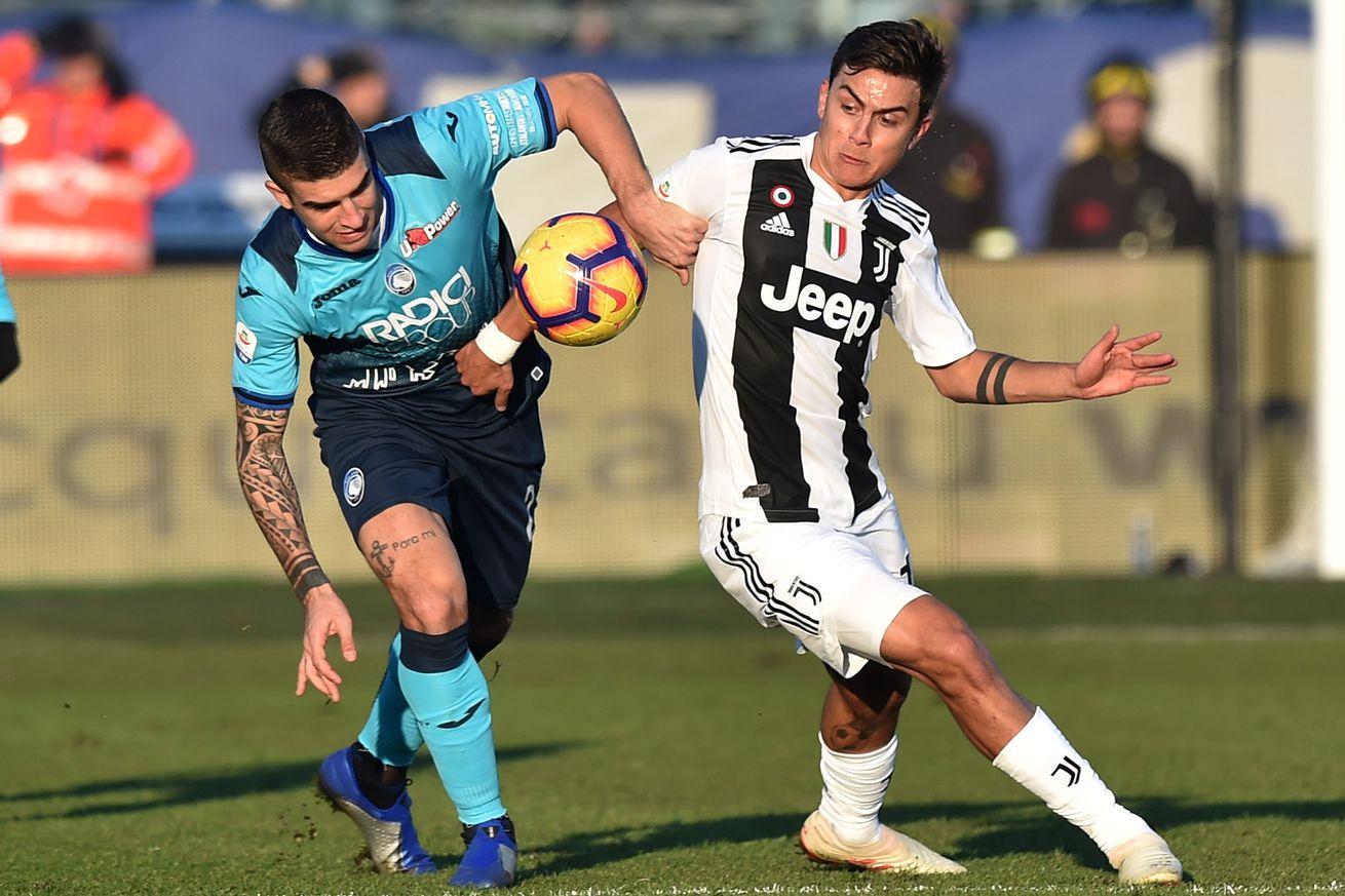 Round 37: Juventus vs. Atalanta match preview