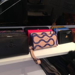 Vivienne Westwood leather goods, starting at $87