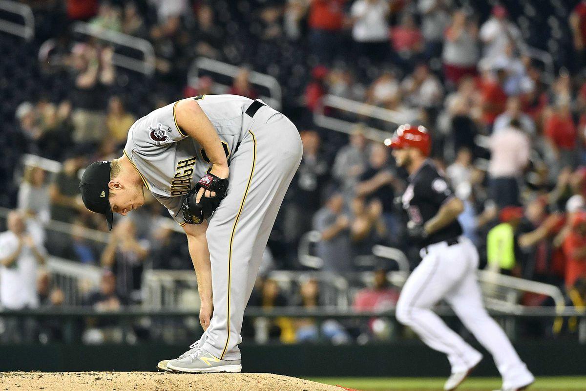 MLB: Pittsburgh Pirates at Washington Nationals
