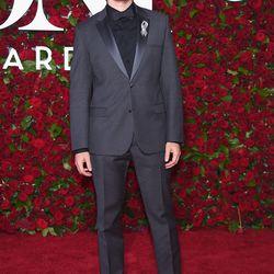 Jonathan Groff in Calvin Klein