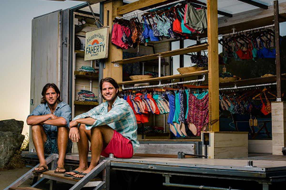 """Cragier Drake Designs will host a Faherty Brand trunk show on September 24. Image credit: <a href=""""http://www.fahertybrand.com/"""">Faherty Brand</a>/<a href=""""http://www.craigerdrake.com/"""">Craiger Drake Designs</a>"""