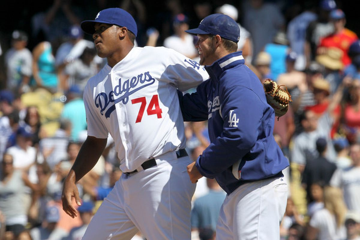Kenley Jansen and Clayton Kershaw led the pitching staff in the second 54 games, just as they have all season.
