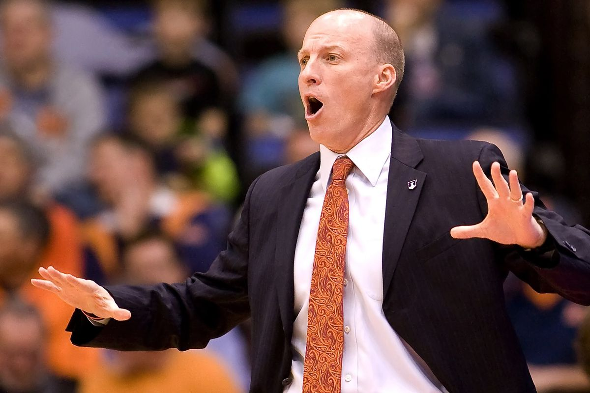 John Groce at the Prairie Capital Convention Center