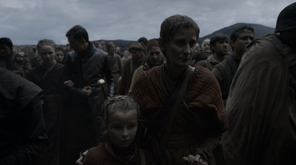 Game of Thrones S08E05 woman and daughter