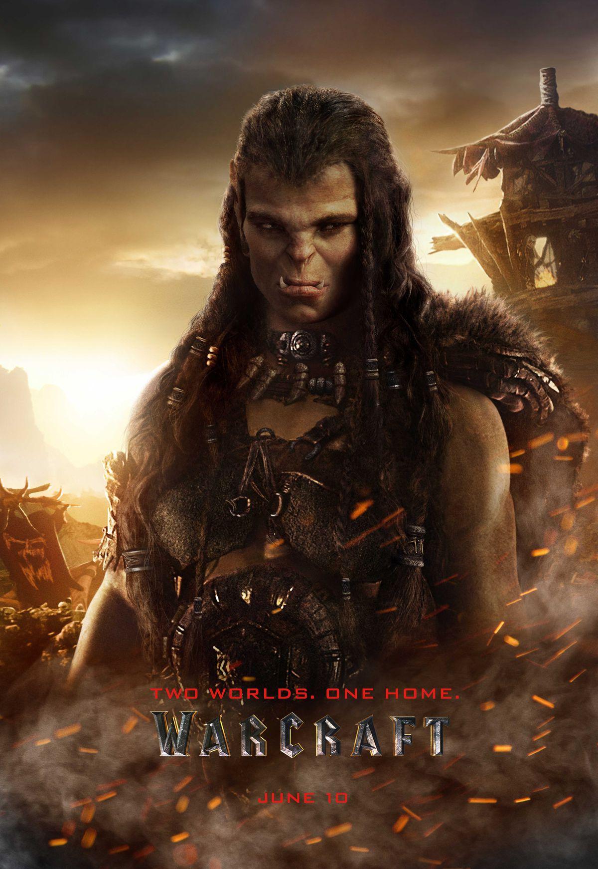 warcraft draka poster