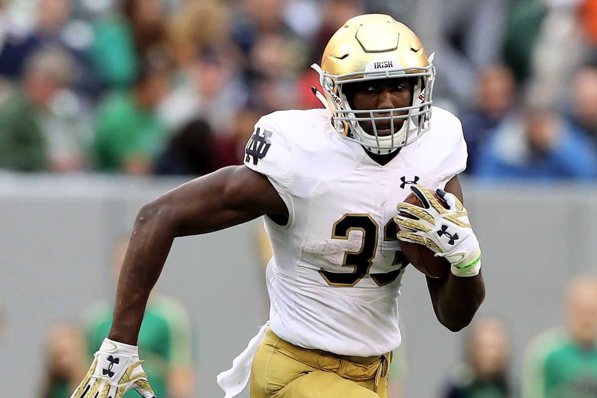 Josh Adams on long run to Heisman Trophy