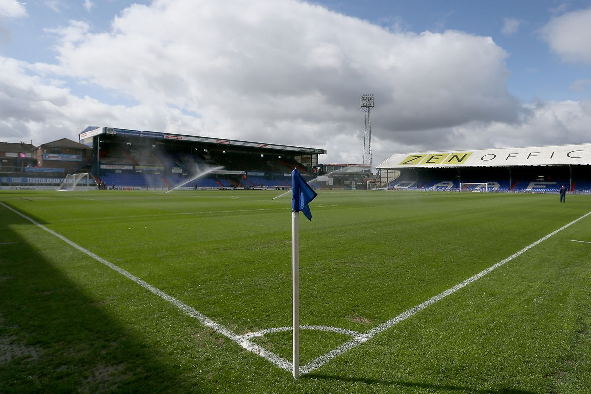 Oldham Athletic v Bolton Wanderers - Sky Bet League One - SportsDirect.com Park