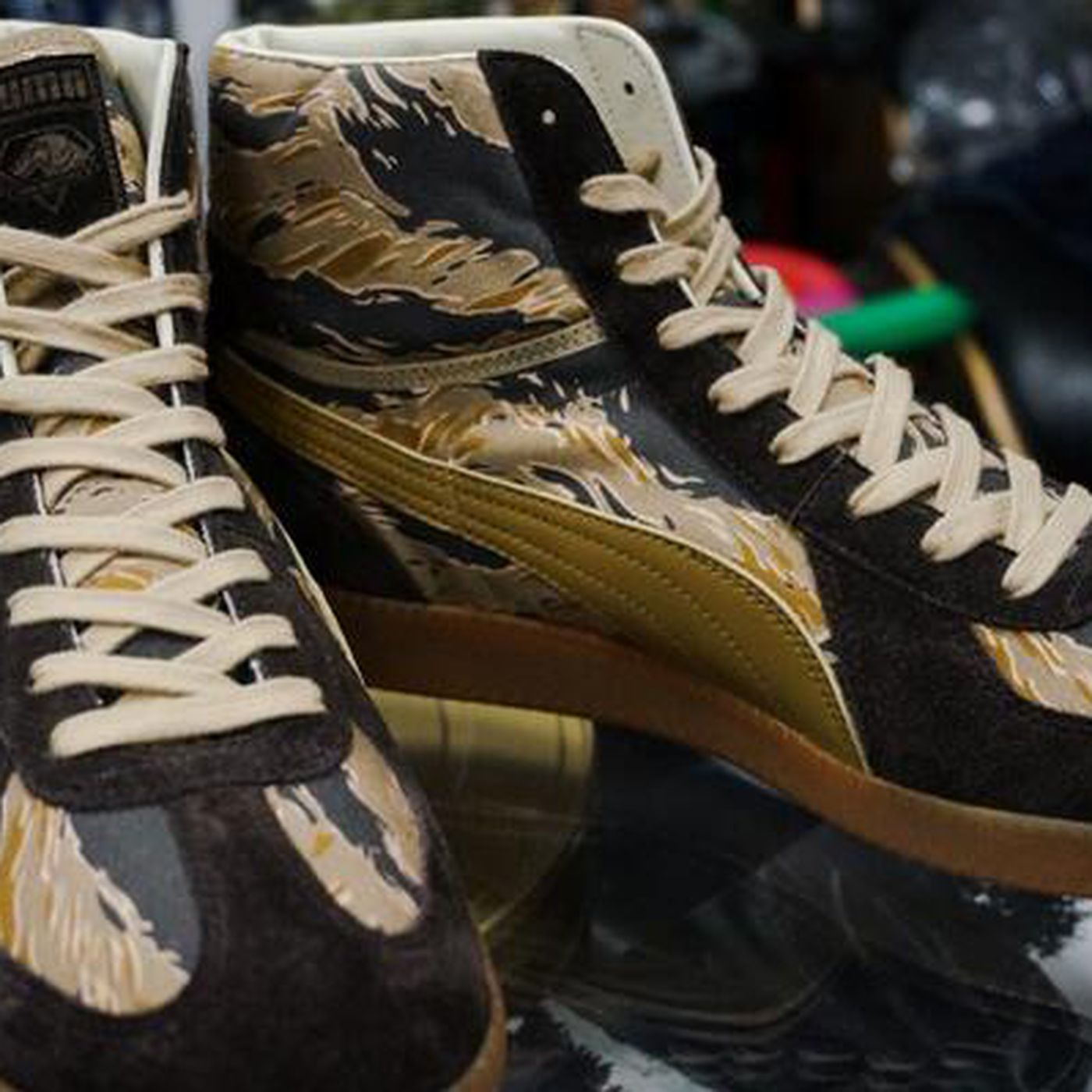 89f742b1b12c Get your Metal Gear 5 shoes and jackets from Konami Japan and Puma - Polygon