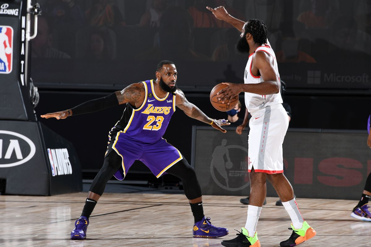 Houston Rockets v Los Angeles Lakers - Game One