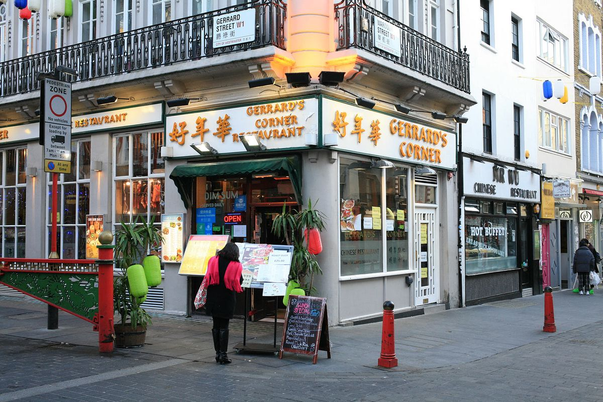 Gerrard's Corner, Chinatown, which has been one of the hardest hit areas of London during the coronavirus lockdown